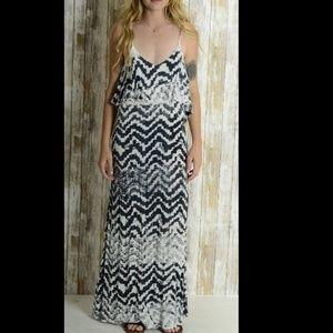 Blue Life Summer Lovin' Zig Zag Maxi Dress